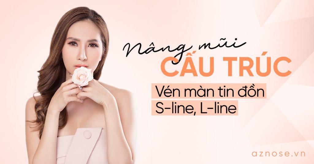 Nâng mũi cấu trúc S-line và L-line