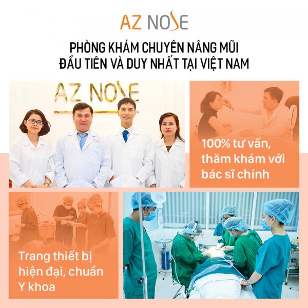 phòng khám chuyên khoa nâng mũi