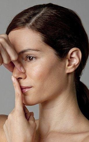 Bài tập giúp mũi cao giúp mũi thẳng hơn