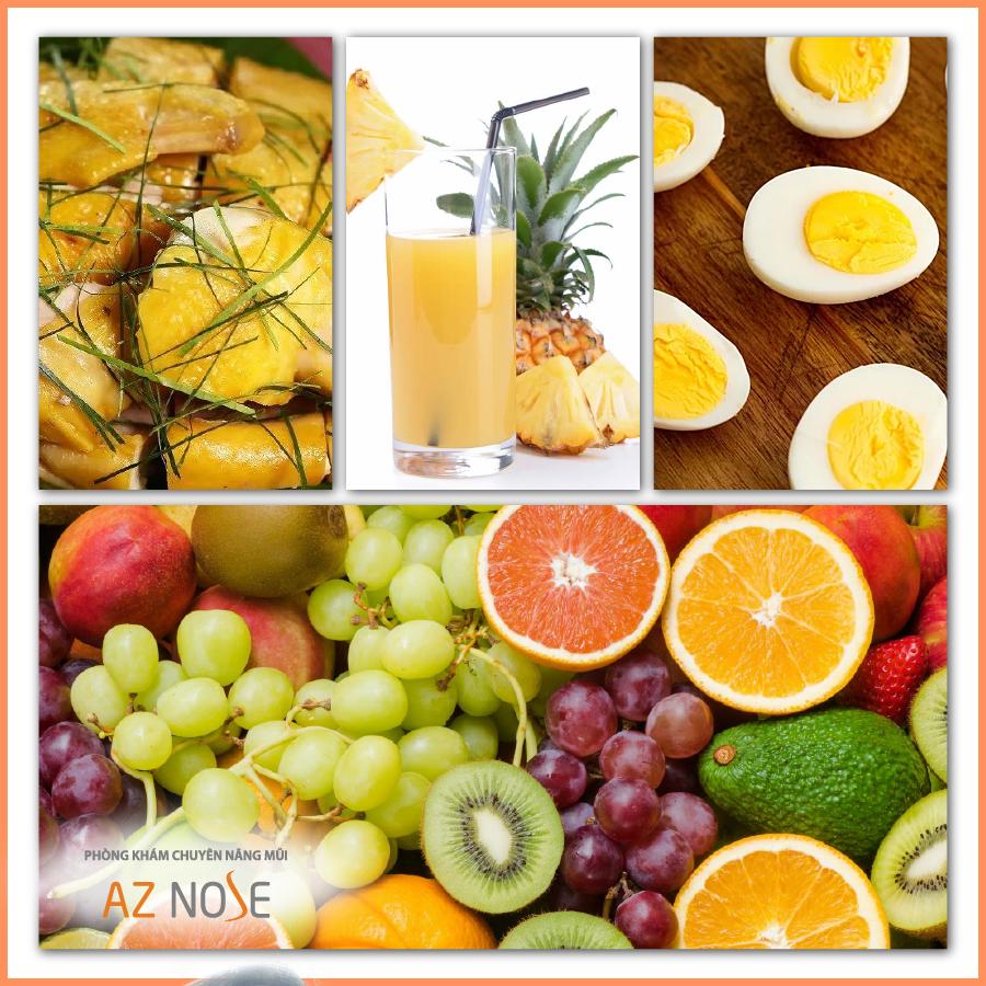 Gợi ý từ phòng khám chuyên sâu nâng mũi AZ NOSE: Những thực phẩm nên sử dụng sau khi nâng mũi