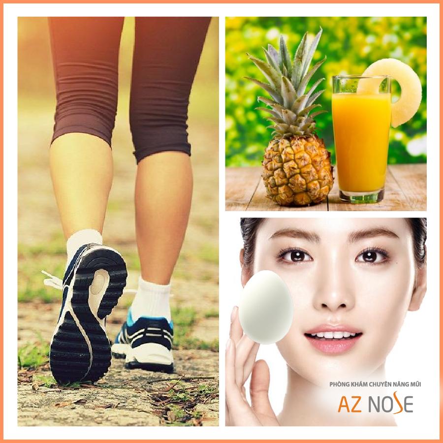 Lời khuyên từ phòng khám chuyên sâu nâng mũi AZ NOSE: Những cách chăm sóc hiệu quả giúp mũi giảm sưng bầm sau nâng