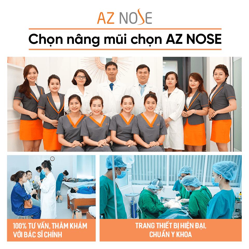Phòng khám chuyên nâng mũi AZ NOSE