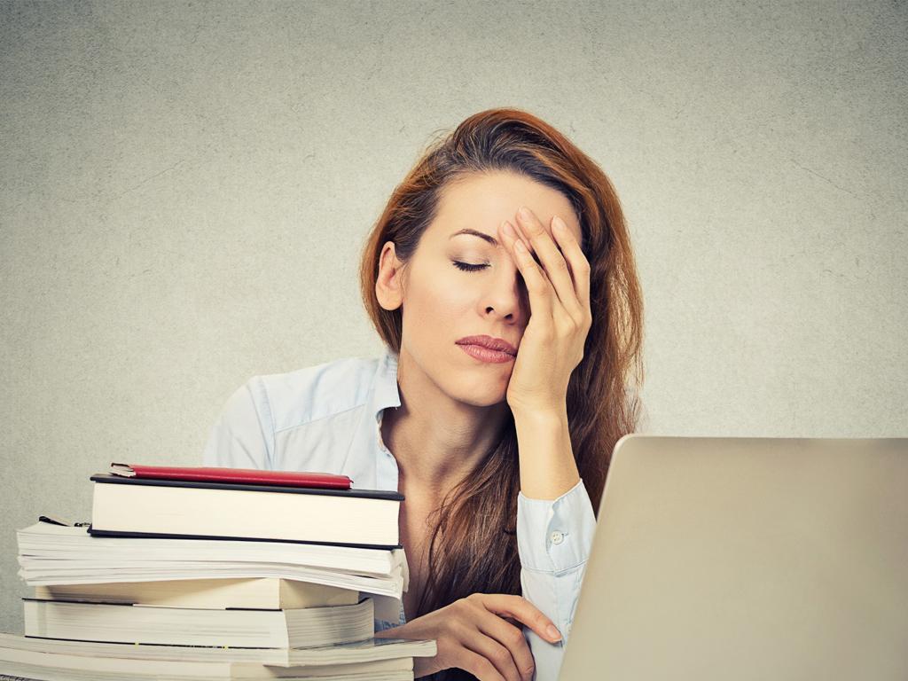 Stress khiến làn da ngày một tồi tệ hơn