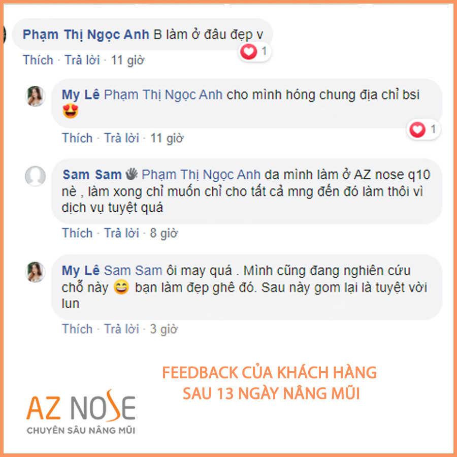 """Feedback của một khách hàng """"iu"""" mến AZ NOSE"""