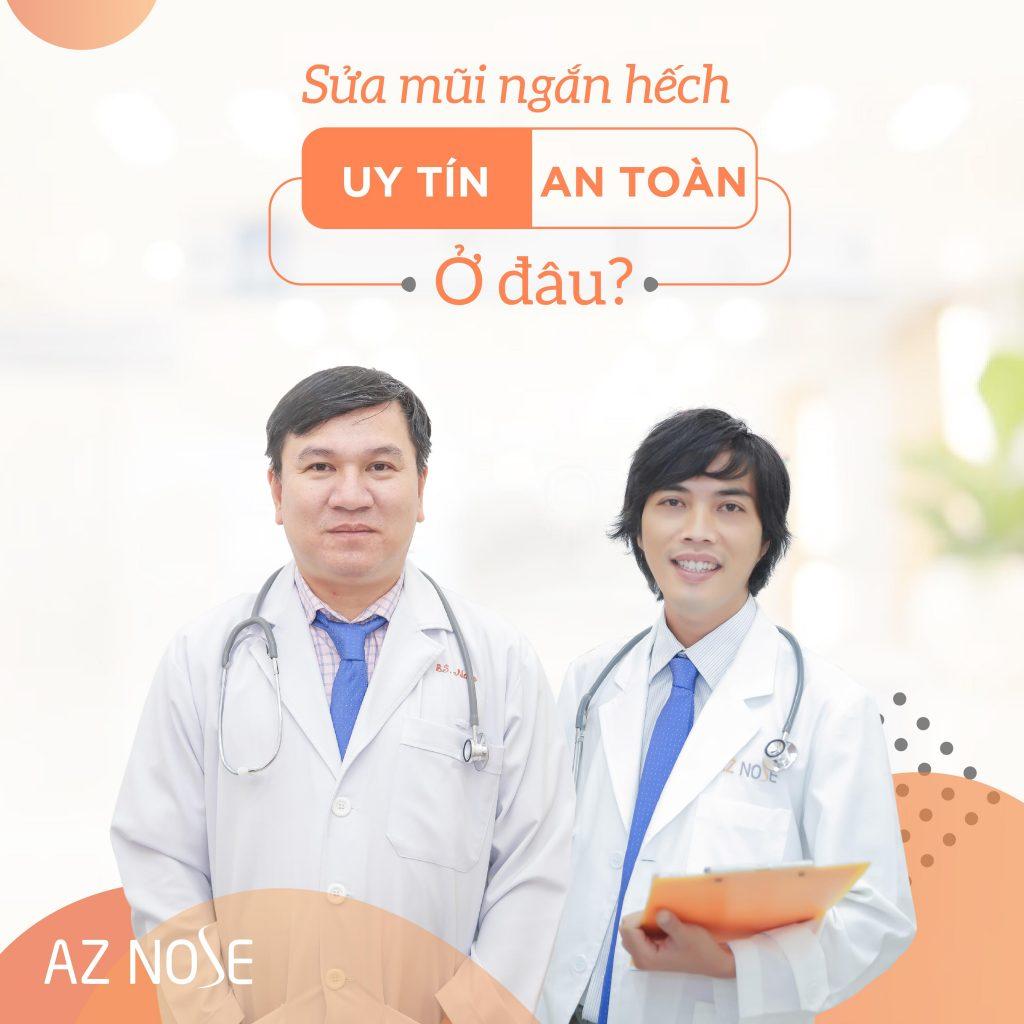 Sửa mũi ngắn hếch tại AZ NOSE