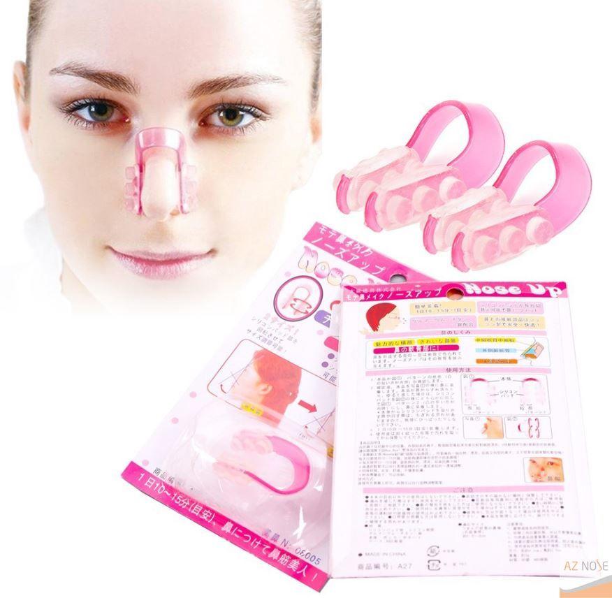 Dùng kẹp đầu mũi giúp làm nhỏ đầu mũi tại nhà