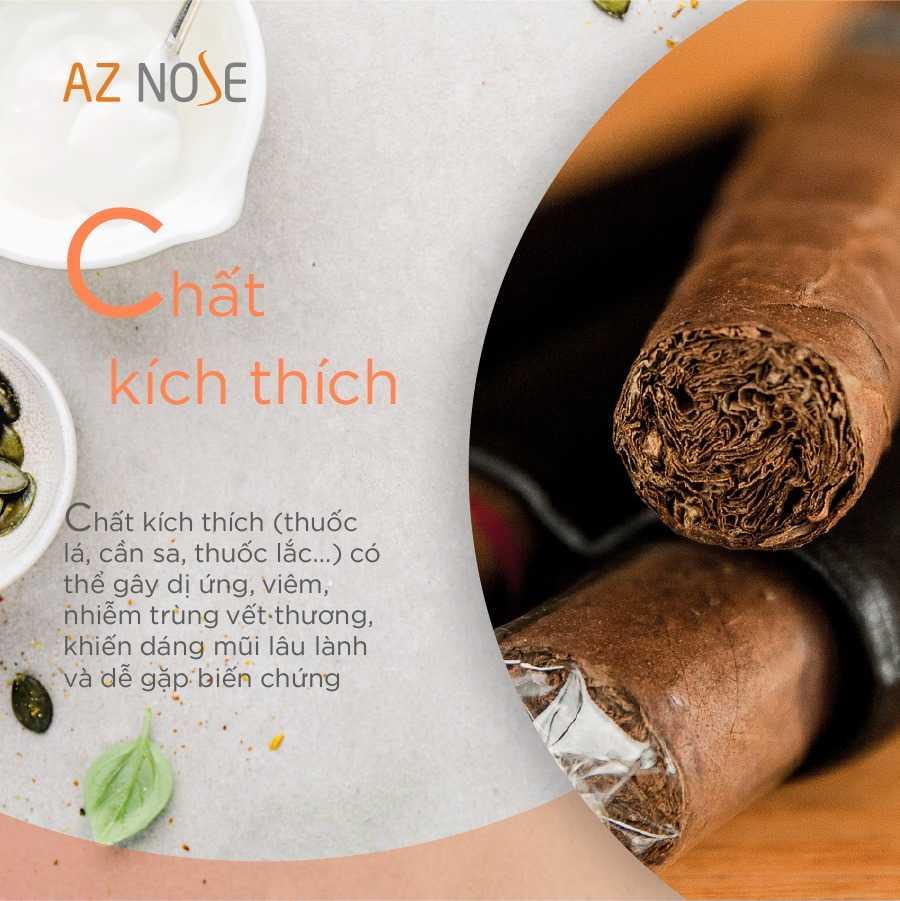 Chất kích thích như thuốc lá, cần sa không tốt cho việc hồi phục