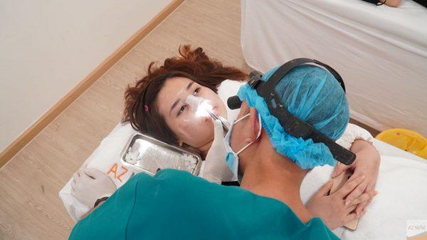 Tại AZ NOSE bạn sẽ được chăm sóc hậu phẫu tốt nhất