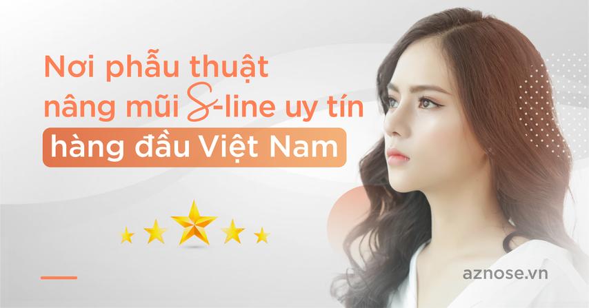 Nơi nâng mũi S-line uy tín hàng đầu Việt Nam