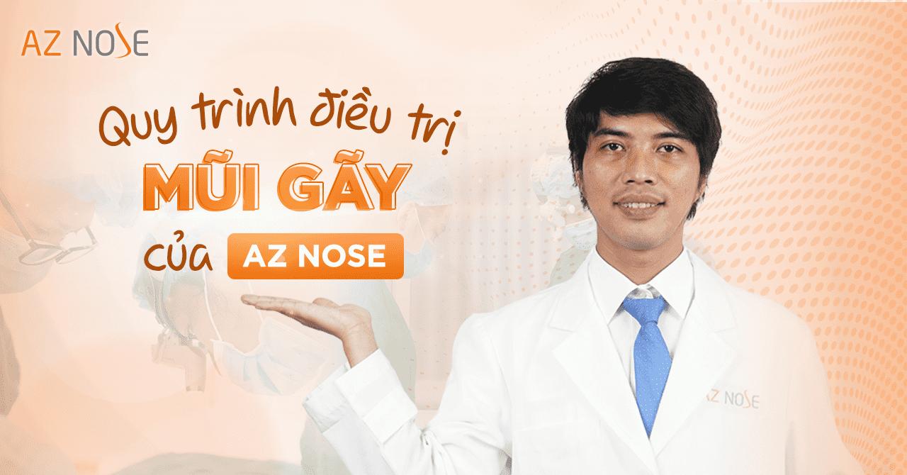 Quy trình điều trị mũi gãy của AZ NOSE