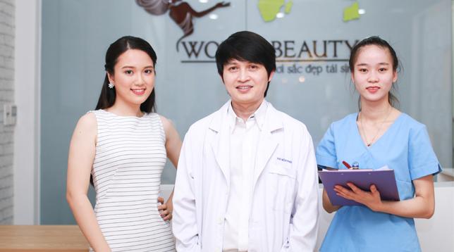Bác Sĩ Nguyễn Thanh Phùng của thẩm mỹ viện Thế Giới Đẹp