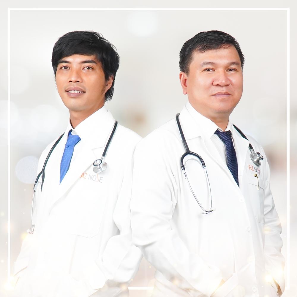 Đội ngũ bác sĩ chuyên môn cao hơn 12 năm kinh nghiệm tại AZ NOSE.